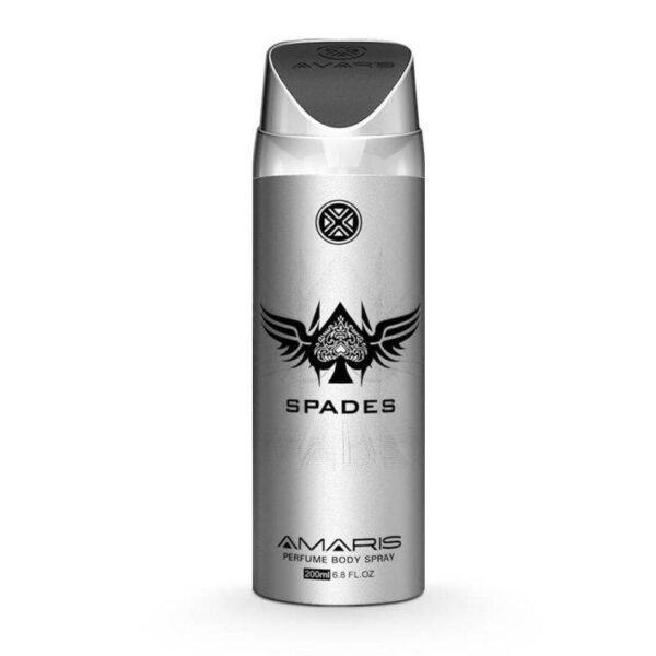 Amaris Spades Men Body Spray - 200 Ml