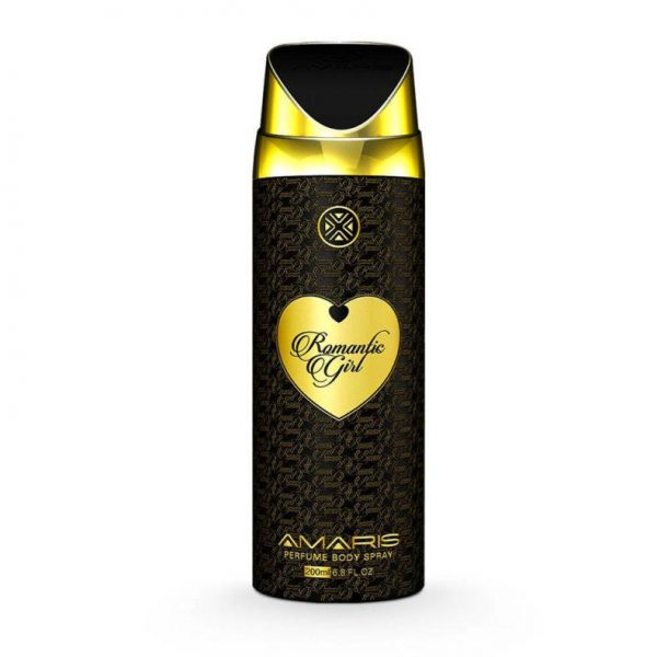 Amaris Romantic Girl Women Body Spray - 200 Ml