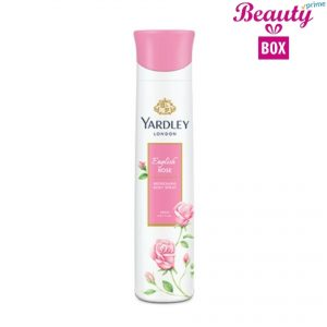 Yardley English Rose Body Spray For Women - 150 Ml