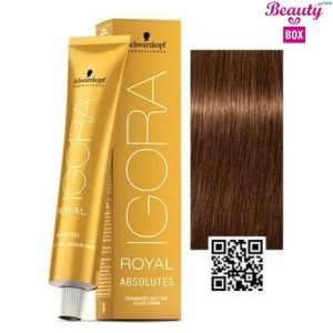 Schwarzkopf Igora Royal Absolutes Hair Color - Dark Blonde Beige Chocolate 6-460