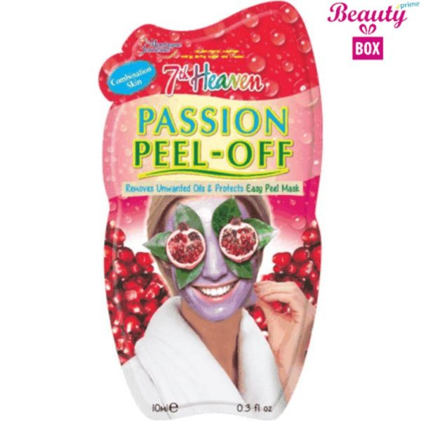 7th Heaven Passion Peel Off Mask - 10Ml