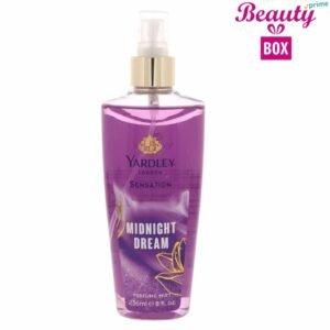 Yardley Sensation Midnight Dream Perfume Mist - 236 Ml