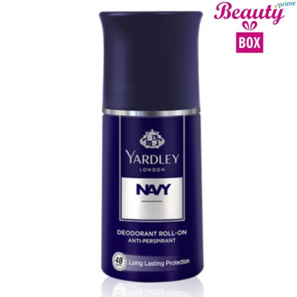 Yardley Navy Men Roll On - 50 Ml