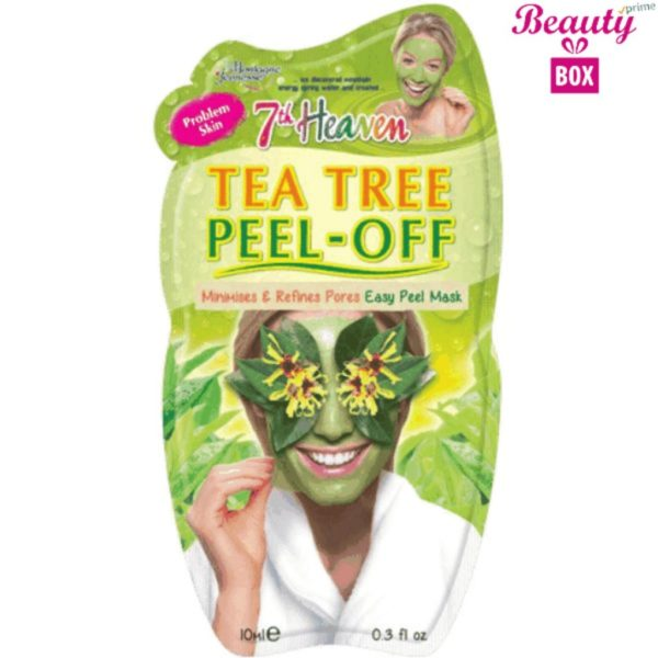 7th Heaven Tea Tree Peel Off Mask - 10Ml