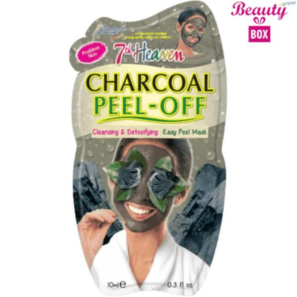 7th Heaven Charcoal Peel Off Mask - 10Ml