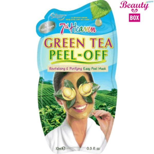 7th Heaven Green Tea Peel Off Mask - 10Ml