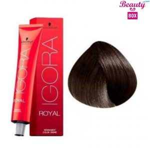 Schwarzkopf Igora Royal Natural Hair Color - Light Brown 5-0