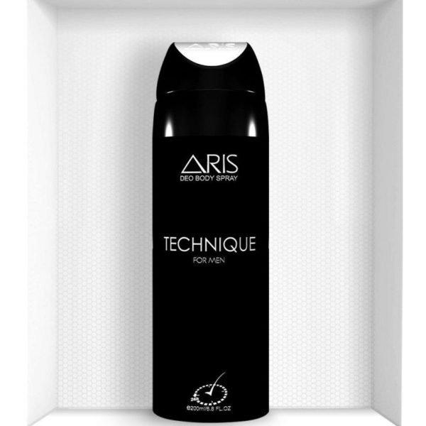 Aris Technique Men Body Spray - 200 Ml