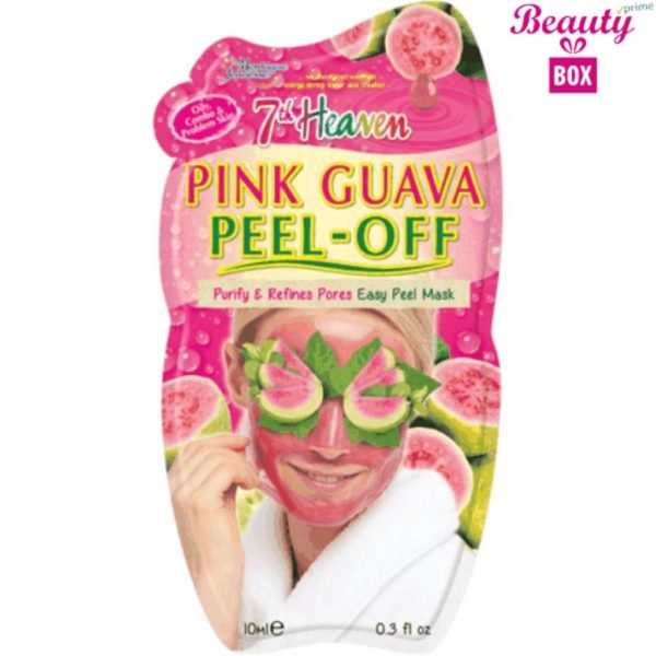 7th Heaven Pink Guava Peel Off Mask - 10Ml