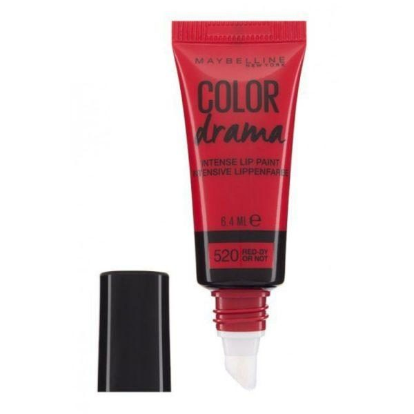 Maybelline Color Drama Lip Paint 520 Red Dy Or Not