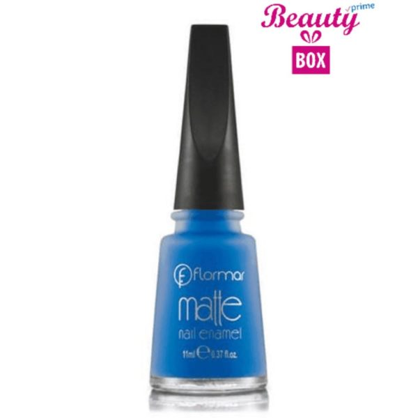 Flormar Matte Nail Enamel - M13 Out Of Blue