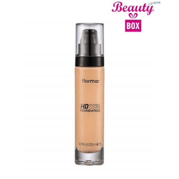 Flormar Invisible Cover HD Foundation - 006 Beige