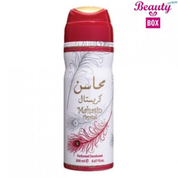 Lattafa Mahasin Crystal Deodorant - 200Ml