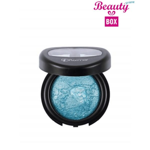 Flormar Diamonds Baked Eyeshadow - D05 Blue-Pearlescent