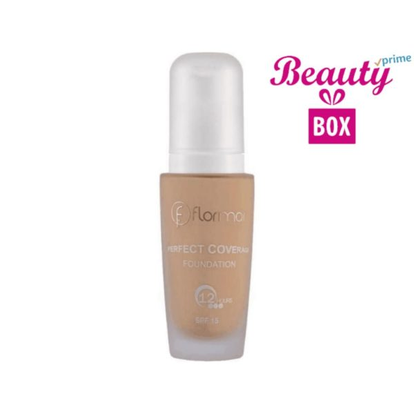 Flormar Perfect Coverage Foundation - 107 Natural Ivory