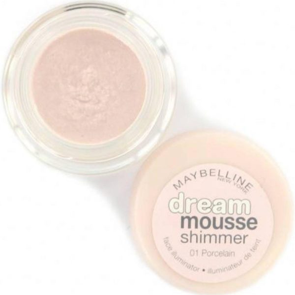Maybelline Dream Mousse Shimmer - 01 Porcelain