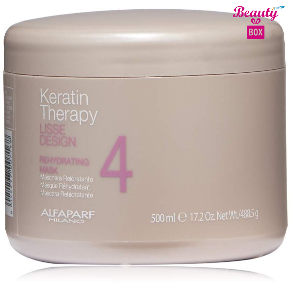 Alfaparf Milano Keratin Therapy Lisse Design Rehydrating Mask -500ml-1
