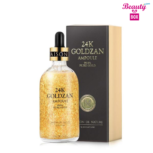 Ampoule 24K Goldzan 99.9% Pure Gold Serum - 100Ml