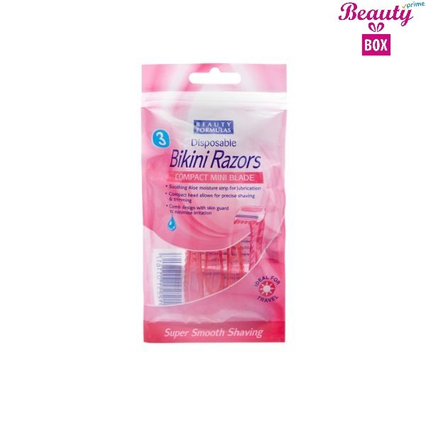Beauty Formulas Bikini Ladies Razor - Pack Of 3