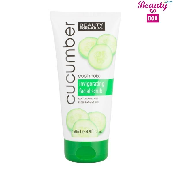 Beauty Formulas Cucumber Facial Scrub -  150Ml