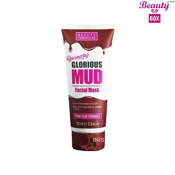 Beauty Formulas Mud Facial Mask - 100Ml