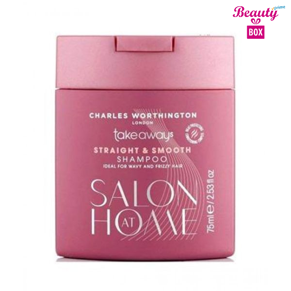Charles Worthington Straight & Smooth Shampoo- 250ml-1