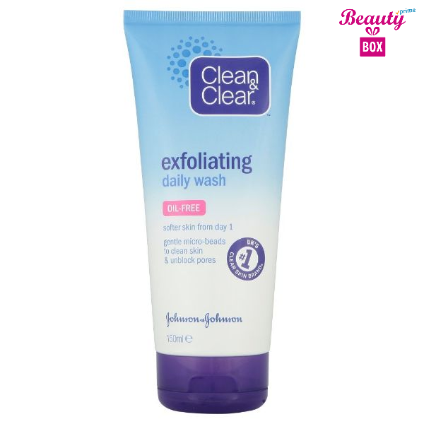 Clean & Clear Exfoliating Daily Wash 150- Ml-1