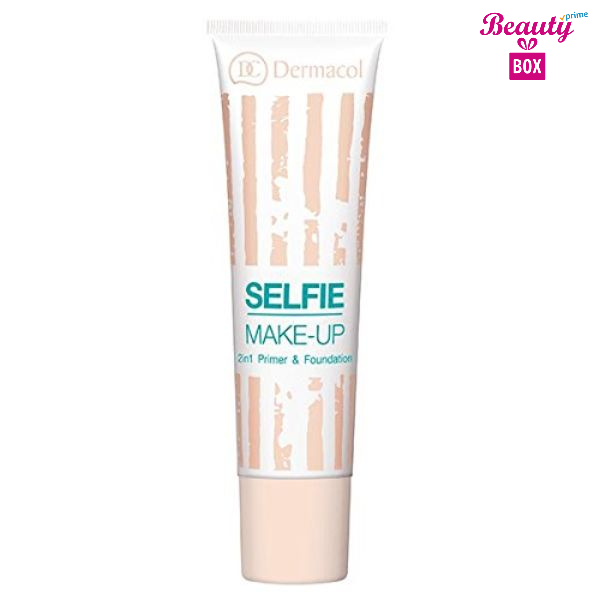 Dermacol No.1 Selfie Make Up 2 in 1 Premier and Foundation, 0.5 Ounce-1
