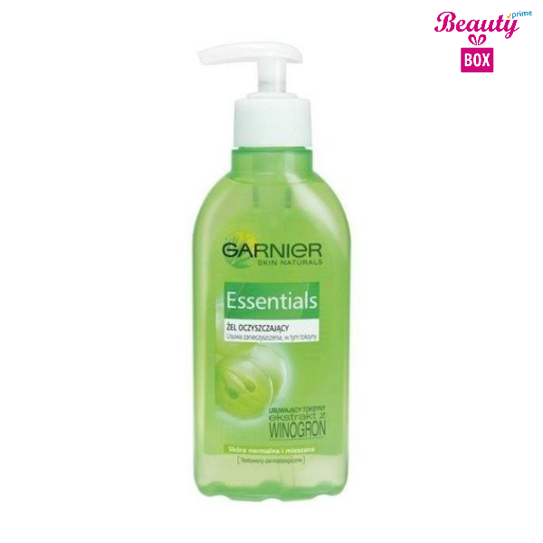 Garnier Essentials Cleansing Gel -200Ml-2
