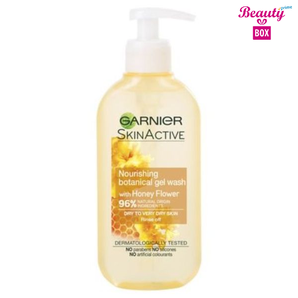 Garnier Natural Honey Flower Gel Wash Dry Skin- 200 Ml s