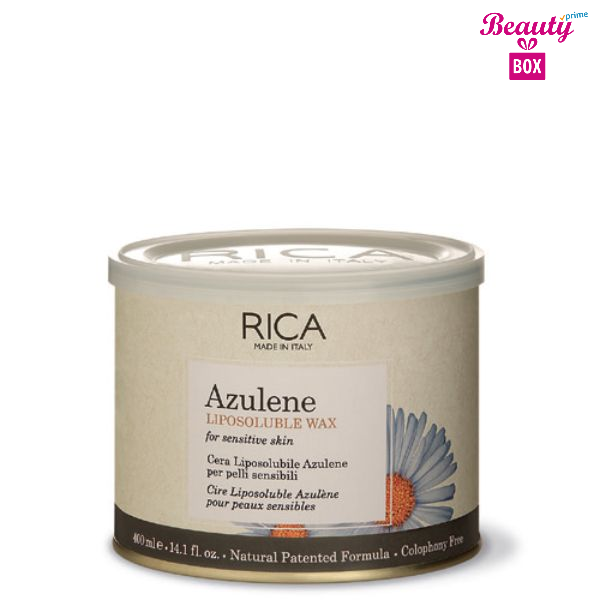 Rica Azulene Sensitive Skin Liposoluble Wax - 400Ml