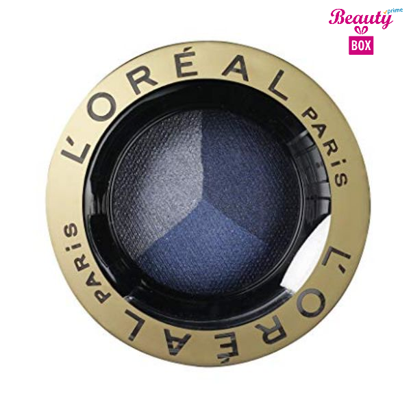 L'Oreal Color Appeal Trio Pro Eyeshadow - 411 Stay Blue 1