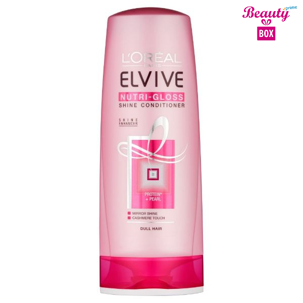 L'oreal Elvive Nutri Gloss Conditioner 400Ml 1