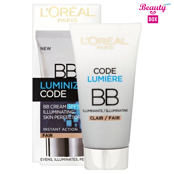 L'oreal Paris Spf15 Luminize Code Bb Cream 50 Ml 1