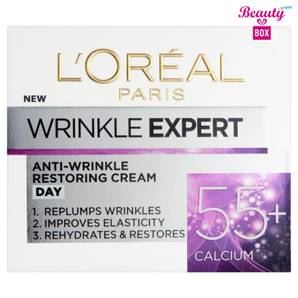 L'oreal Paris Wrinkle Expert 55+ Calcium Day Cream 50Ml 1