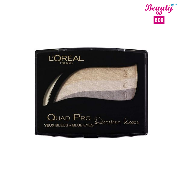 L`oreal Quad Pro Blue Eyes 303 Beige Taupe 1