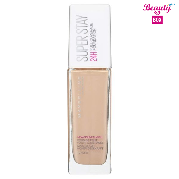 Maybelline Superstay 24 Hour Foundation 10 Ivory 30ml 1