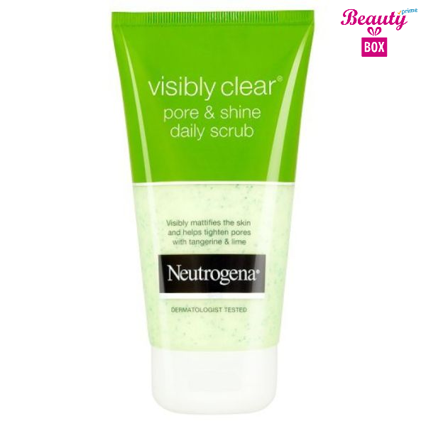 Neutrogena Visibly Clear Pore And Shine Daily Scrub - 150Ml