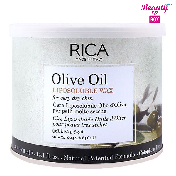 Rica Olive Oil Dry Skin Liposoluble Wax - 400Ml