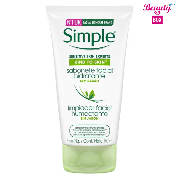 Simple Kind To Skin Moisturising Facial Wash- 150 Ml