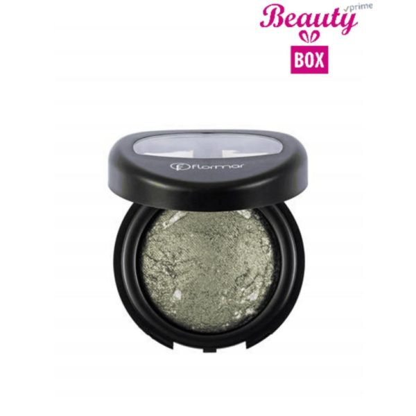 Flormar Diamonds Baked Eyeshadow - D07 Olive Glam-Intense