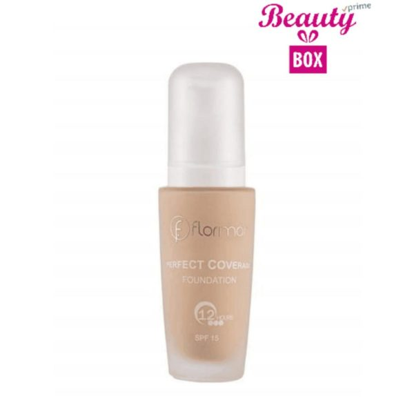 Flormar Perfect Coverage Foundation - 100 Light Ivory