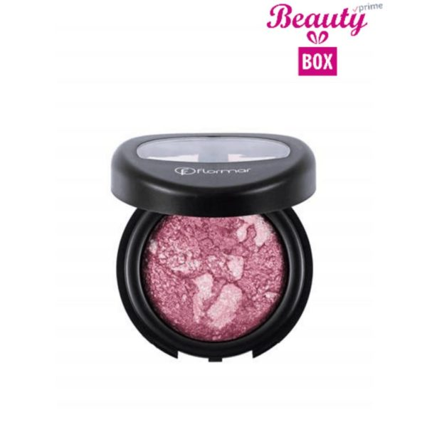 Flormar Diamonds Baked Eyeshadow - D04 Pink Diamond-Intense