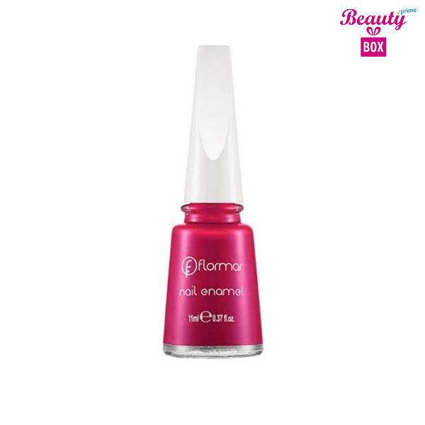 Flormar Nail Enamel - 125 Stylish Roses-bright