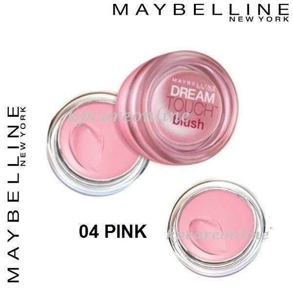Maybelline Dream Touch Blush Cream Blusher - 04 Pink