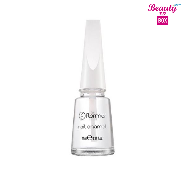 Flormar Nail Enamel - 301 Glass Effect Transparant