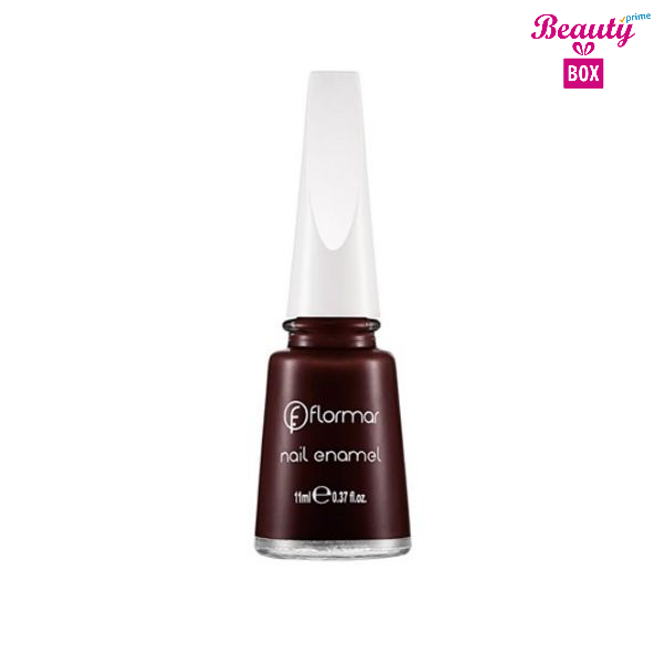 Flormar Nail Enamel - 306 Lost In Bordeaux-bright