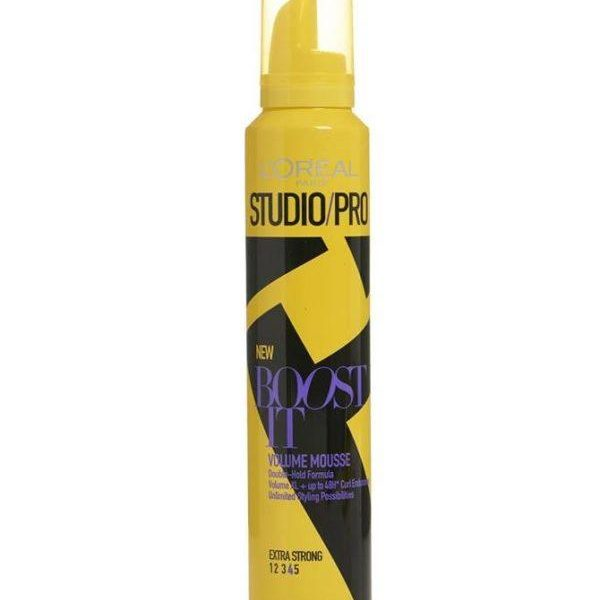 Loreal Studio Pro Boost It Volume Mousse 200 Ml
