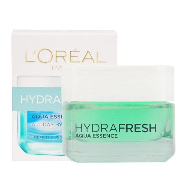 Loreal Hydrafresh Aqua Essence All Day Hydration for All Skin Types 50ml