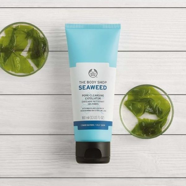 The Body Shop Seaweed Pore Cleansing Exfoliator - 100Ml